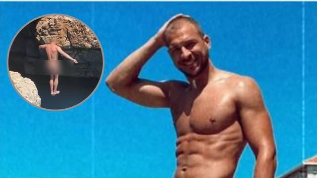 'Savršeni' golica maštu: Snimao kako potpuno gol skače u more