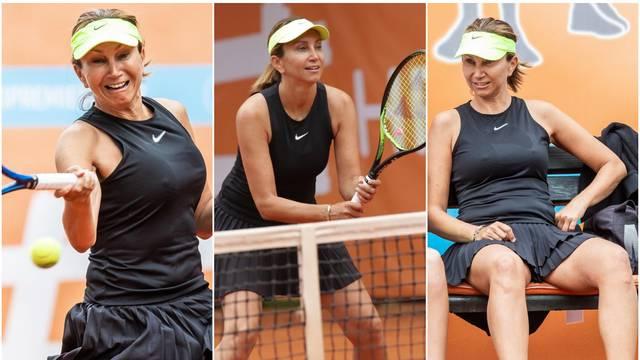 Iva Majoli na turniru pokazala lice nakon što joj je 'popustio' efekt tretmana za pomlađivanje