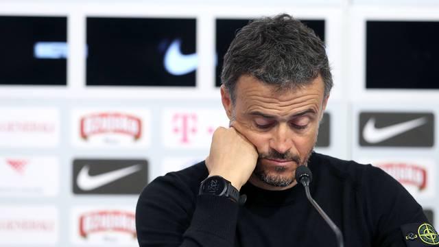 Zagreb: Konferencija Å¡panjolskog izbornika nakon poraza na Maksimiru