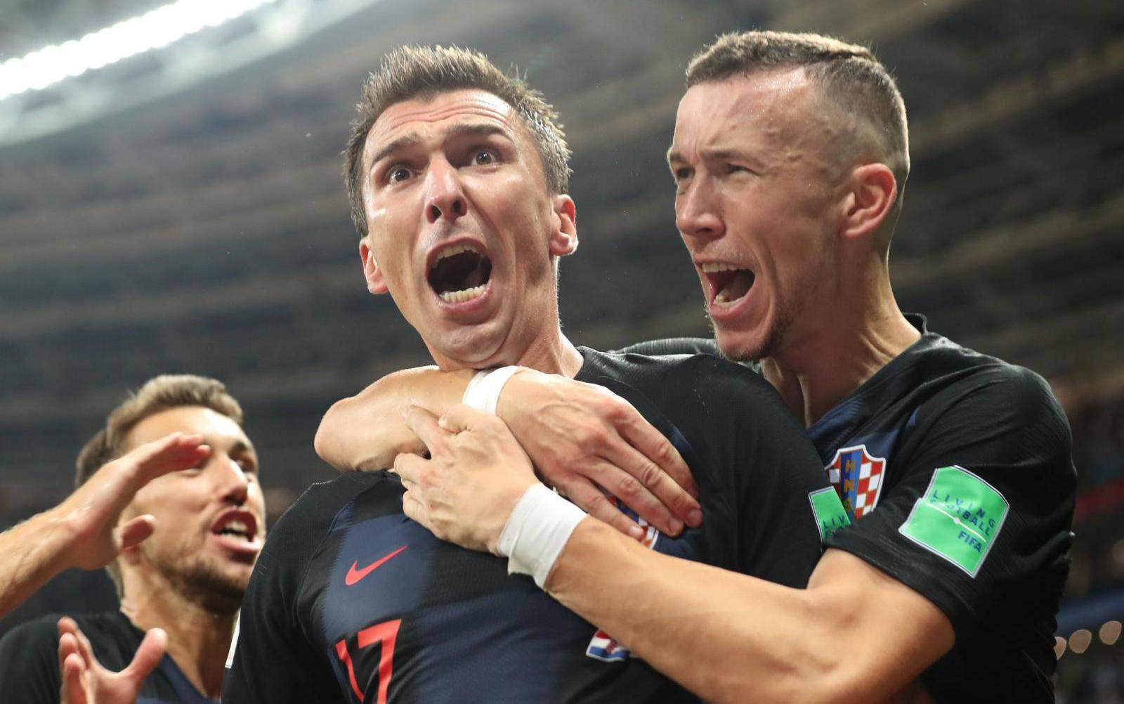 (SP)RUSSIA-MOSCOW-2018 WORLD CUP-SEMIFINAL-ENGLAND VS CROATIA