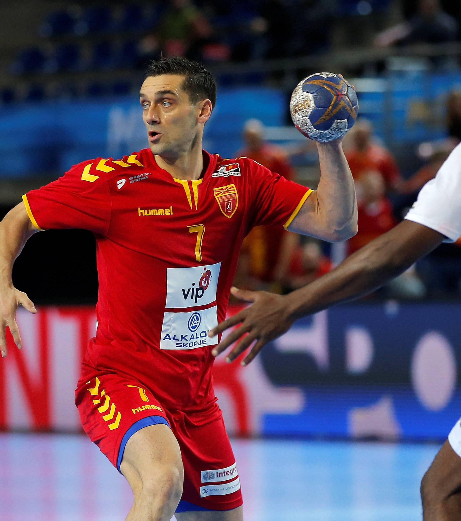 Men's Handball - Macedonia v Tunisia - 2017 Men's World Championship Main Round - Group B