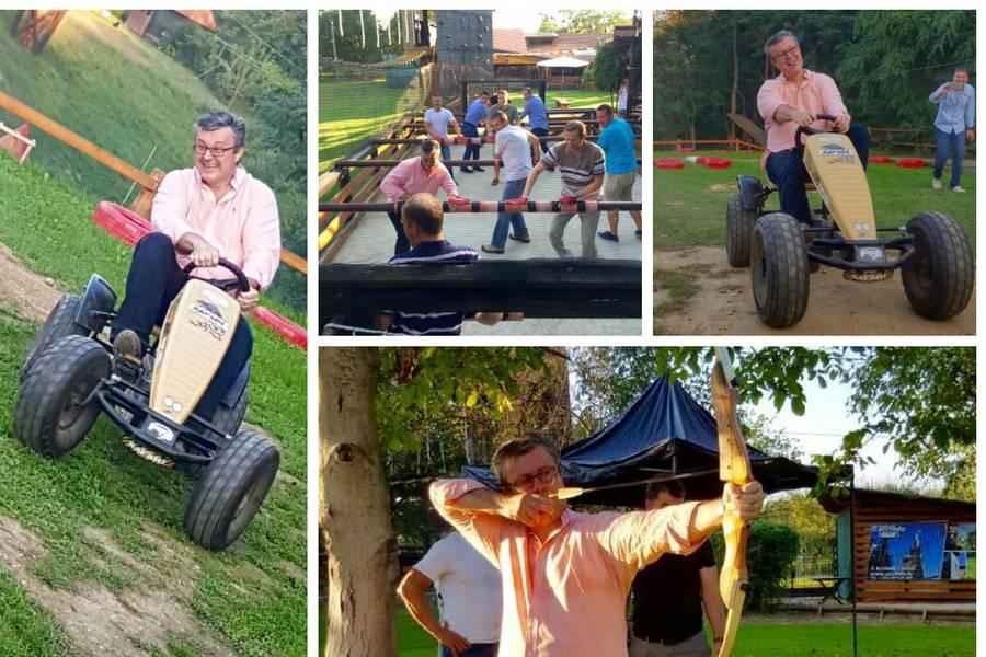 Zabava u adrenalinskom parku: Tim's team posjetio Međimurje