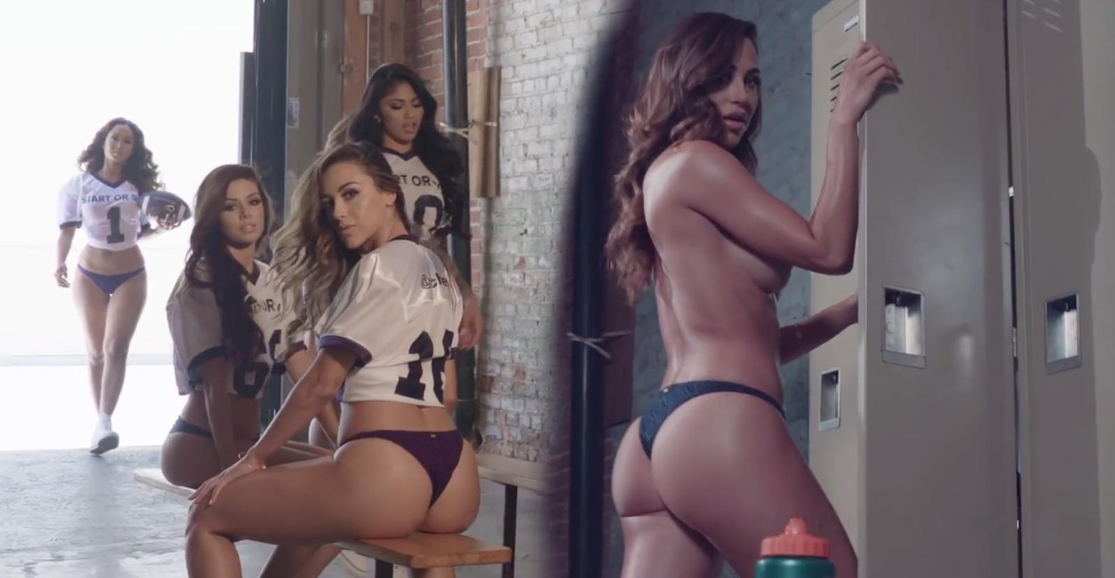 Na rubu podnošljivog: Tri seksi boginje zajedno u istoj reklami