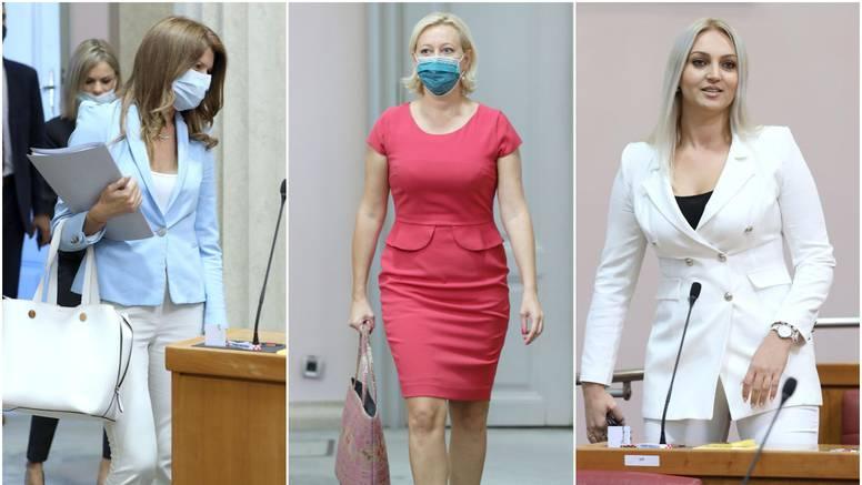 Zastupnice se vratile u saborske klupe, svu pažnju ukrala mlada SDP-ovka koju je Grbin izbacio