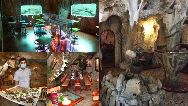 Podzemni restorani, pećine i kamene špilje i u doba korona virusa nude prave gastroužitke