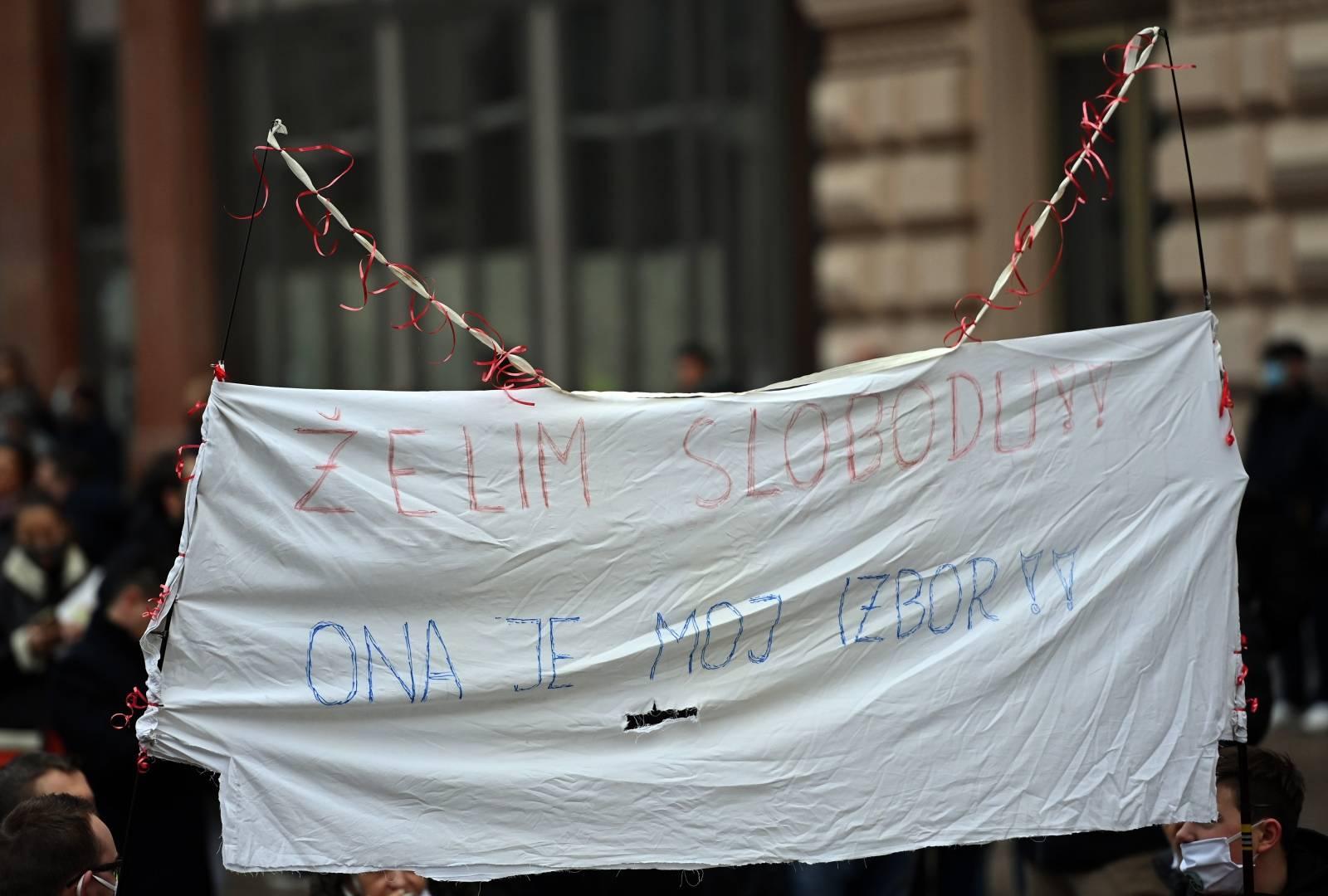 Zagreb: Prosvjed poduzetnika zbog neadekvatnih ekonomskih mjera