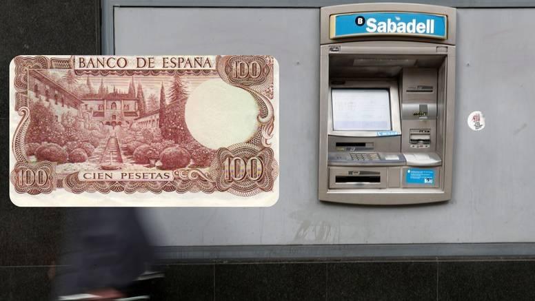 Španjolci i dalje negdje imaju pezete vrijedne 1,6 milijardi €