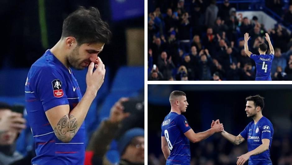 Fabregas se u suzama oprostio od Chelseaja: Odlazi u Monaco