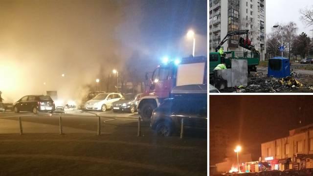Palili kontejnere u Gajnicama, vatra oštetila četiri automobila