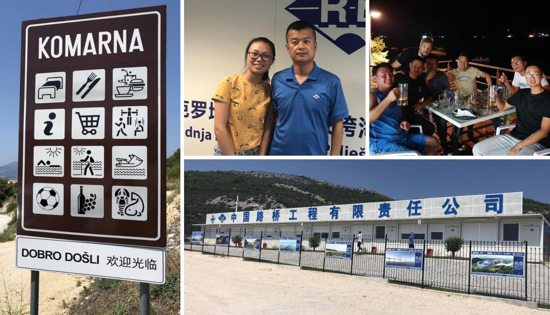 Kinez koji gradi Pelješki most: 'Volim Hrvatsku i vaše ćevape'