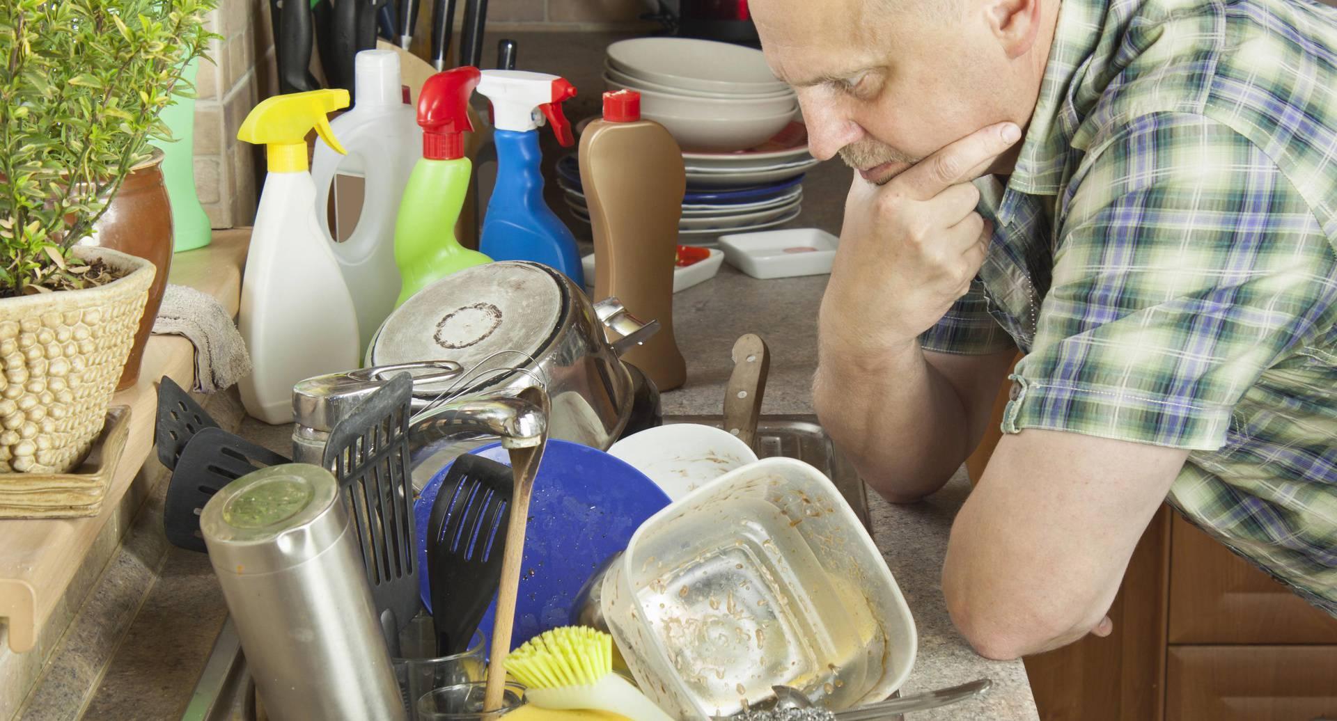 'Bila je van sebe, razvela se od mene zbog suđa kraj sudopera'