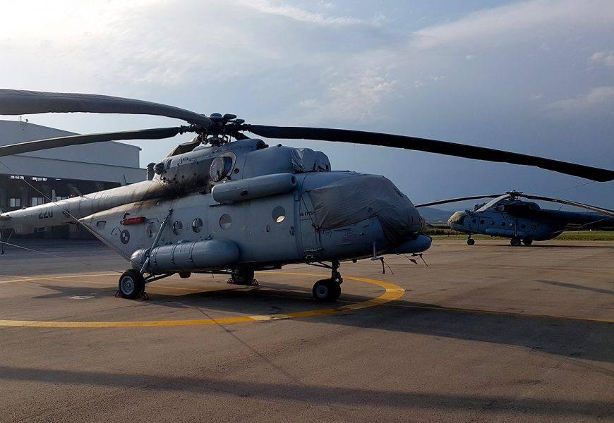 Dva remontirana helikoptera Mi-171 Sh upućena u KFOR