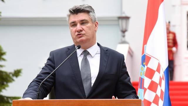 Cetinje: Predsjednici Milo Đukanović i Zoran Milanović obratili se medijima nakon zajedničkog sastanka