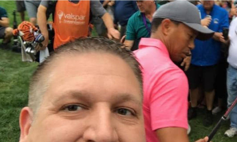 Koban pokušaj selfieja: Traži Tigera Woodsa 30.000 dolara