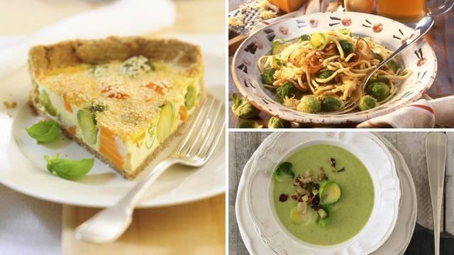 Prokulice na tri slasna načina: Juha, tjestenina i fini quiche
