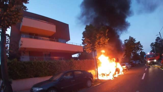 U Zagrebu je eksplodirao auto: 'Užas, mislili smo da je potres'