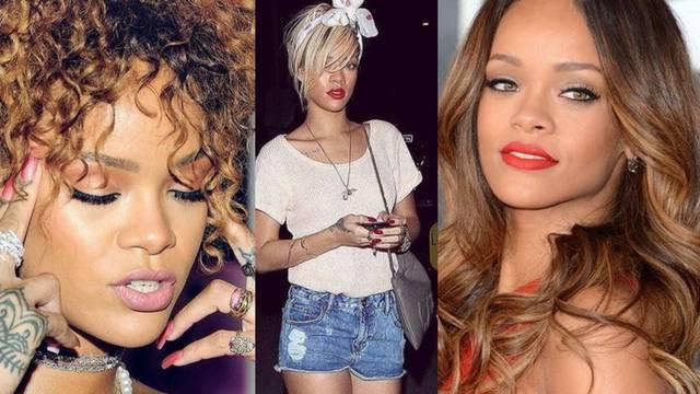 Rihanna i njezine frizure: Česte promjene boje, dužine i stila