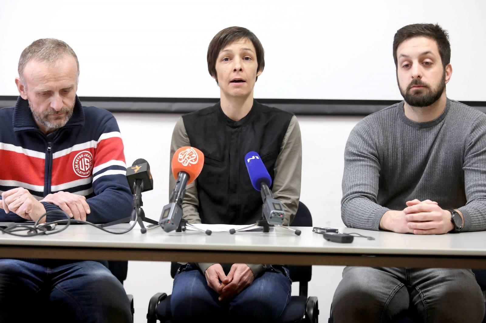Zagreb: Konferencija za medije GONG-a povodom bojkota HRT-a