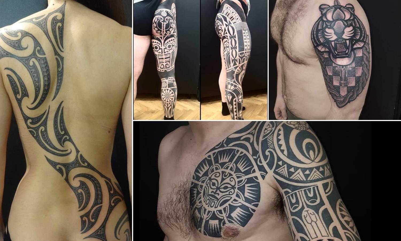 Etno hrvatske tetovaže mnogi rade kao uspomenu na baku