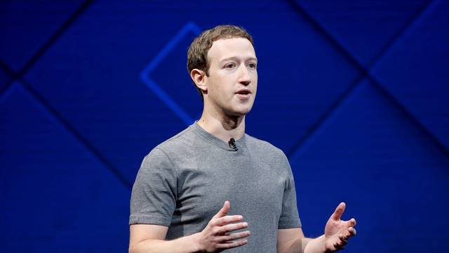 FILE PHOTO: Facebook Founder and CEO Zuckerberg speaks in San Jose