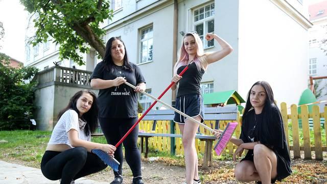 Djevojke velika srca: Nakon sanacije, očistile su Nazorovu