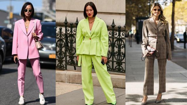 Zamijenite haljinu za žensko odijelo: 10 kombinacija sa živahnim proljetnim odijelima