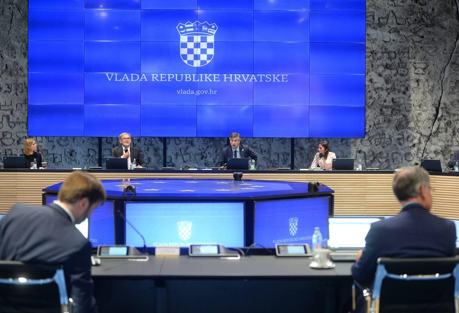 Zagreb: Sjednica Vlade u Nacionalnoj i sveučilišnoj knjižnici.