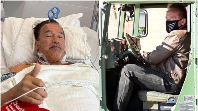 Schwarzenegger operirao srce, nakon par dana juri u oklopnom vozilu: 'Nemoj samo u teretanu'