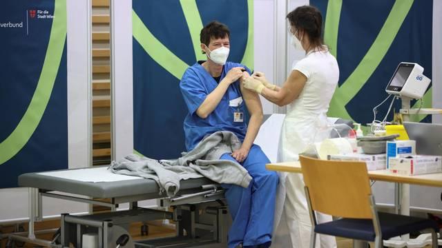 Austria begins vaccinations against coronavirus disease (COVID-19)