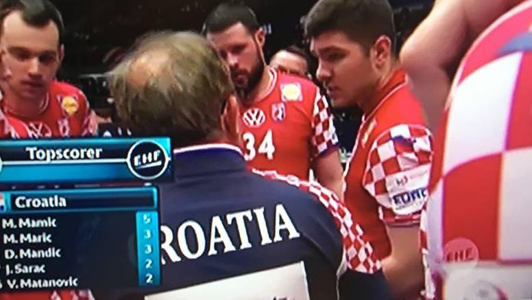 Konfuzija na time-outu: Tko je pivot, Šipić? -A nisam ja igra...