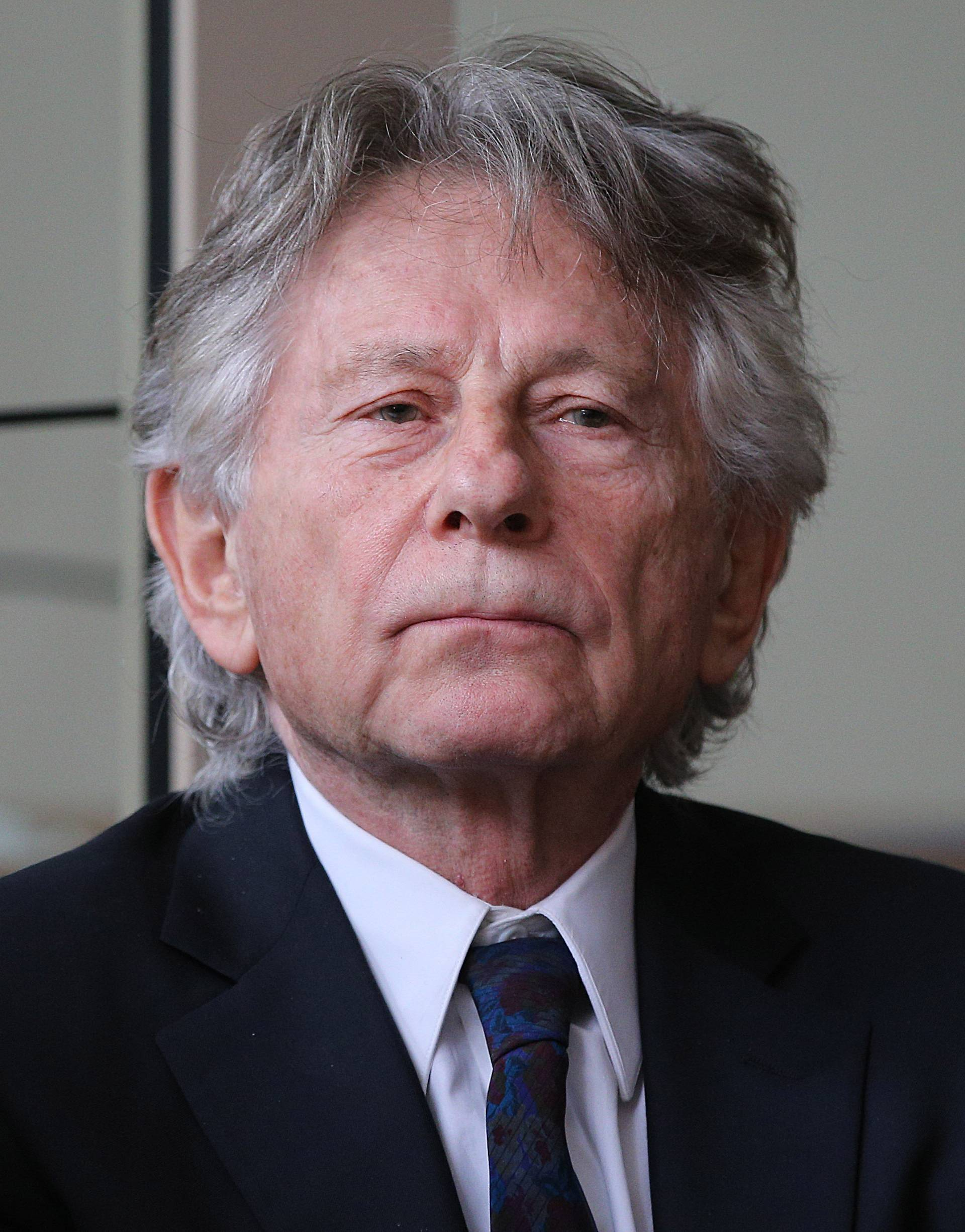 Roman Polanski at a court hearing