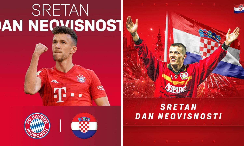 Bayern i Bayer čestitali su Dan neovisnosti: Fantastična gesta
