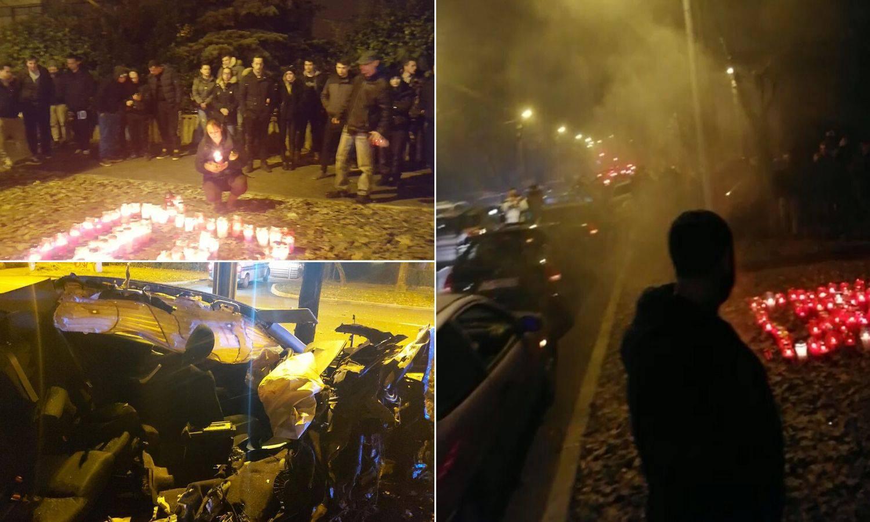 Turirali i blokirali ulicu u znak sjećanja na poginulog prijatelja