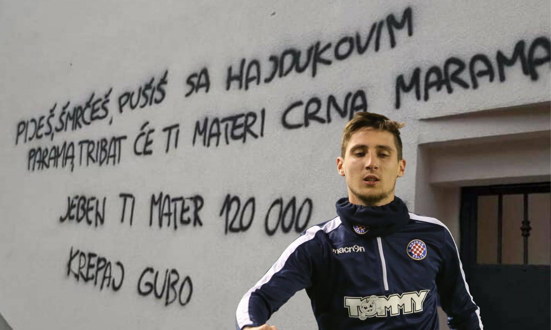 Policija pronašla vandala koji je išarao Jakoliševu kuću i prijetio