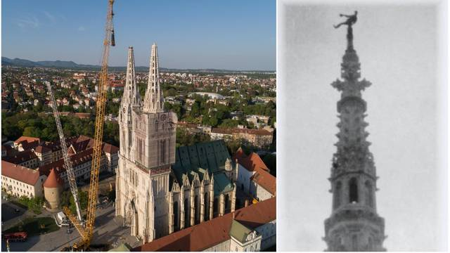 Htio je biti vatrogasac, na vrhu Katedrale izvodio vratolomije...