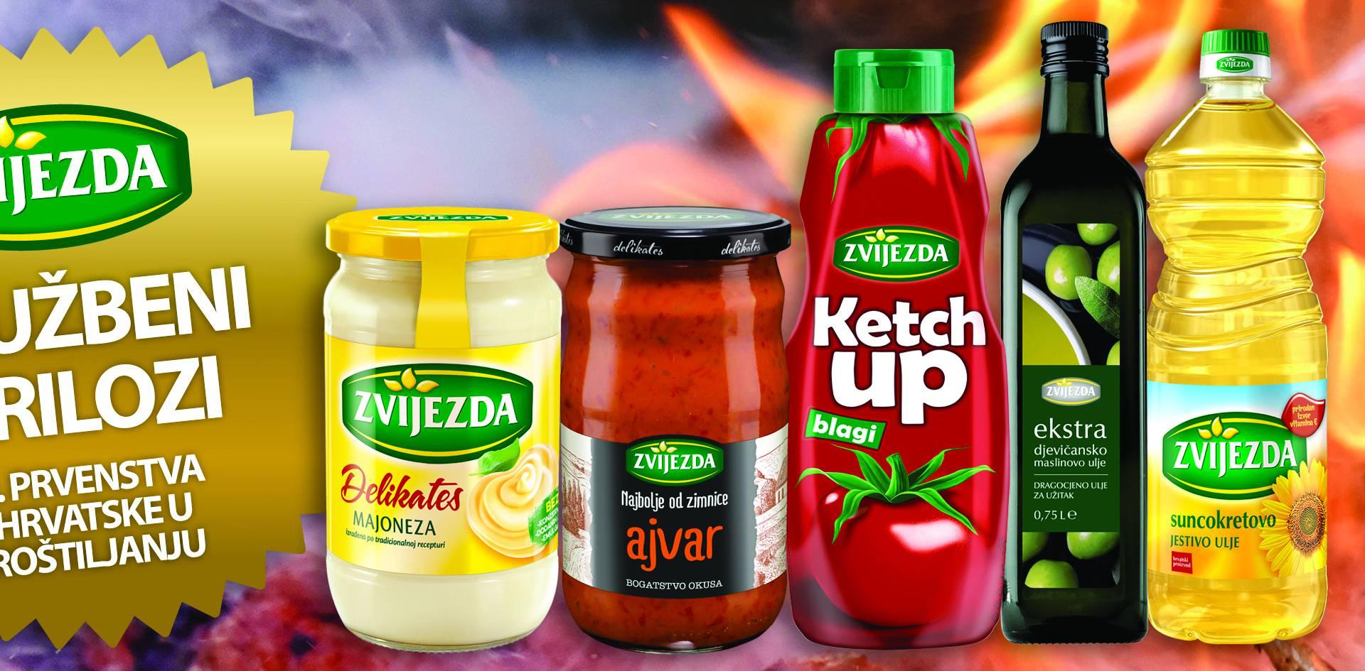 Majoneza, ajvar i kečap – trio gušt za roštilj