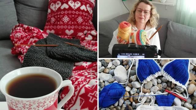 Marija ima YouTube kanal za pletenje: Ovo je idealno vrijeme za početi s tim, opustit će vas