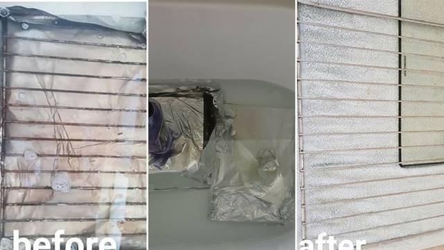 Genijalan trik: Očistite rešetke iz pećnice s minimalno truda