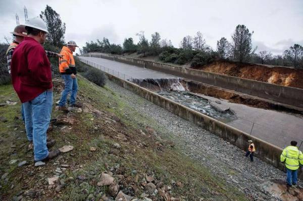Strah od katastrofe: Krater na najvišoj brani opasno se raširio