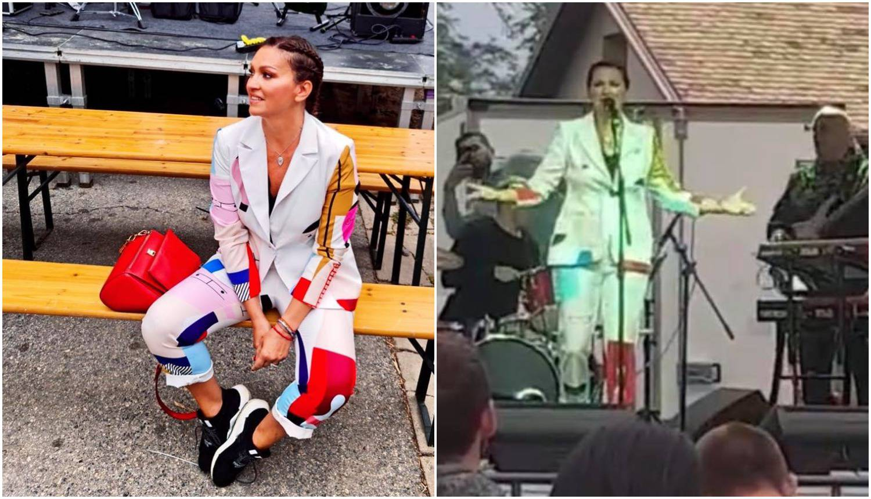 Nakon tri mjeseca Hvara, Nina Badrić pjevala na festivalu vina