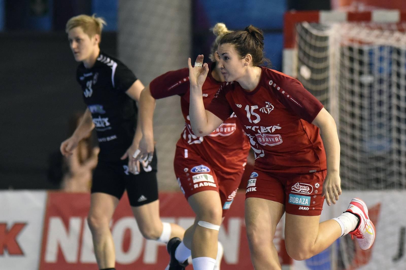 Koprivnica: Utakmica 4. kola EHF kupa, HC Podravka Vegeta - Siofok KC