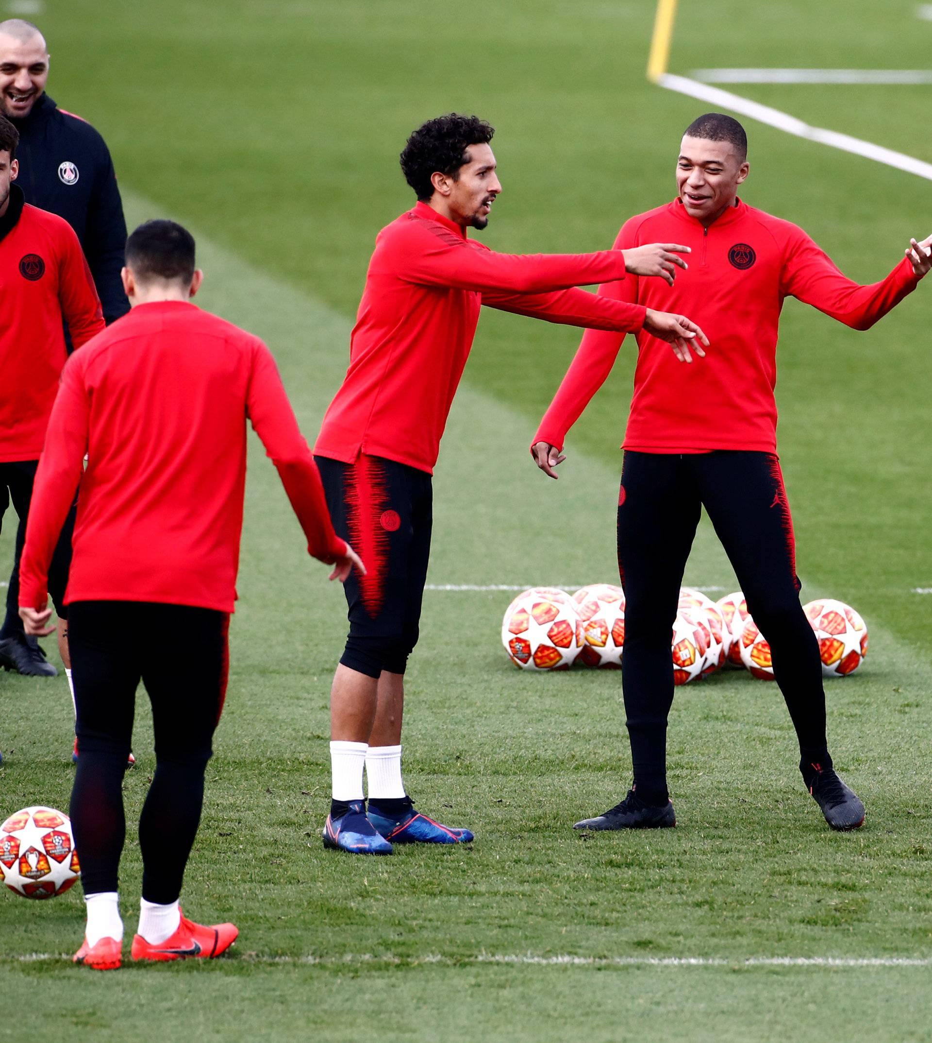 Champions League - Paris St Germain Training