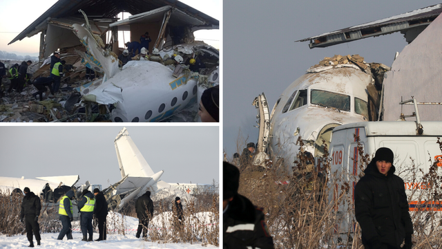 Avion s 98 putnika zabio se u zgradu, najmanje 15 mrtvih