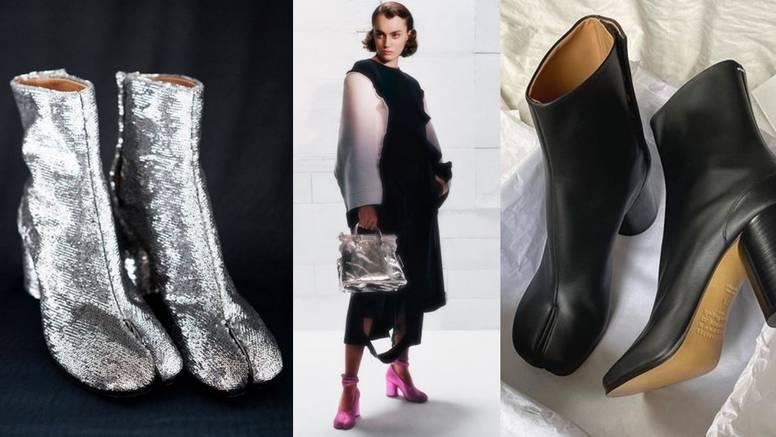Specifičan dizajn: Avangardna scena već više od 30 godina obožava Margielinu Tabi cipelu