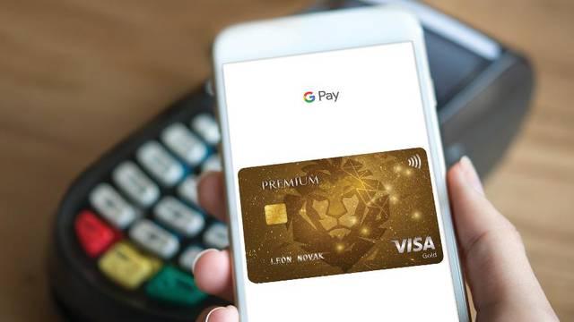 Na svoj Google Pay možete spojiti i Visa Premium kartice