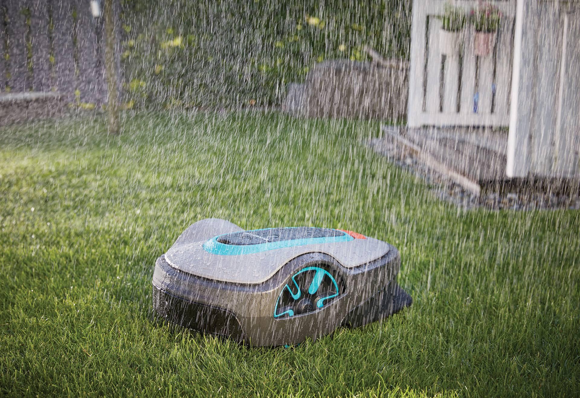 Pravilnom košnjo travu možete srediti i kada kiši.
