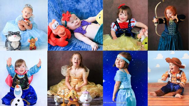 Djeca s Downom kao Disneyevi likovi: Njihova je radost zarazna