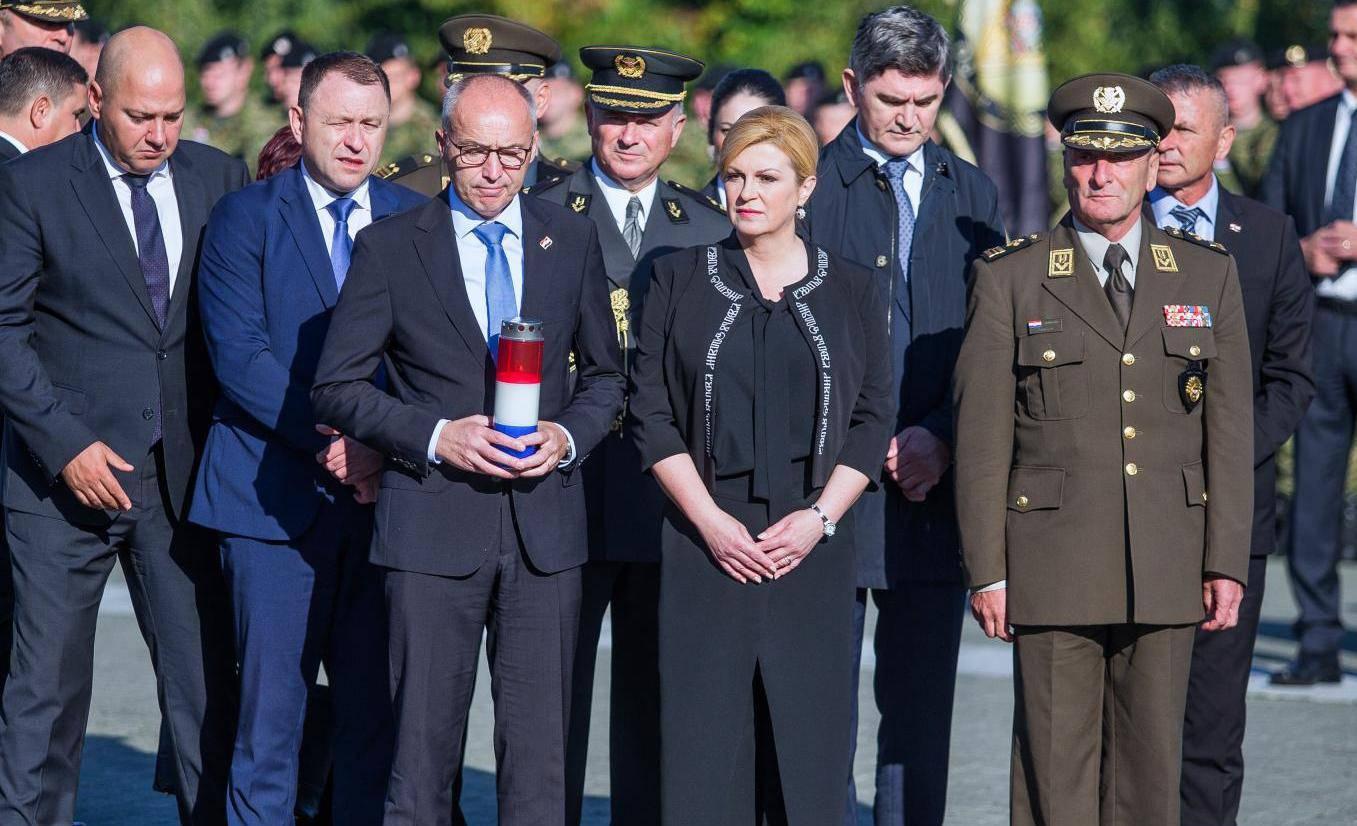 Vukovar: Predsjednica na obilježavanju pogibije general bojnika Blage Zadre