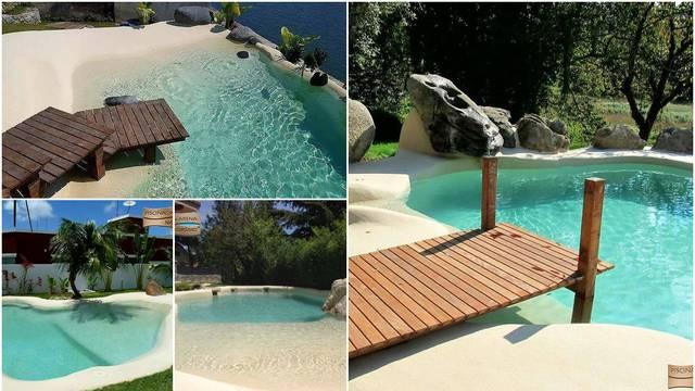 Za prave hedoniste: Oni bazene pretvaraju u pješčane plaže
