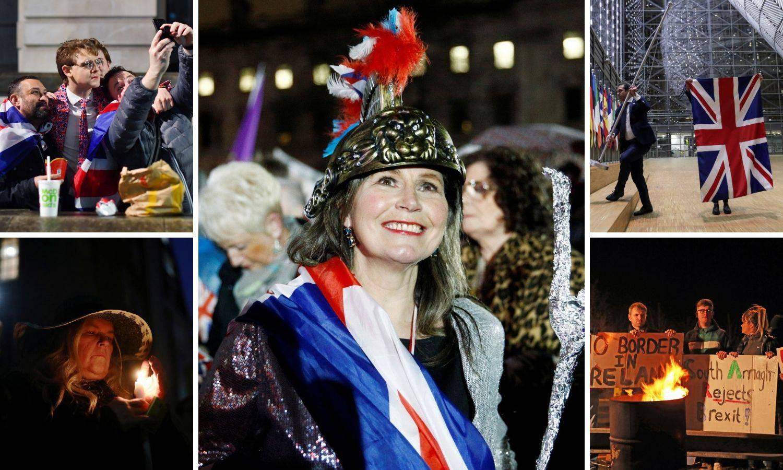 Slavlje na ulicama Londona:  Tisuće čekale ponoć i Brexit